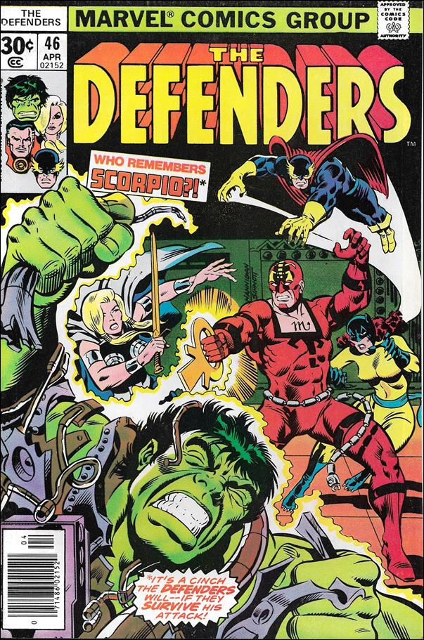 Defenders (1972) 46-A by Marvel