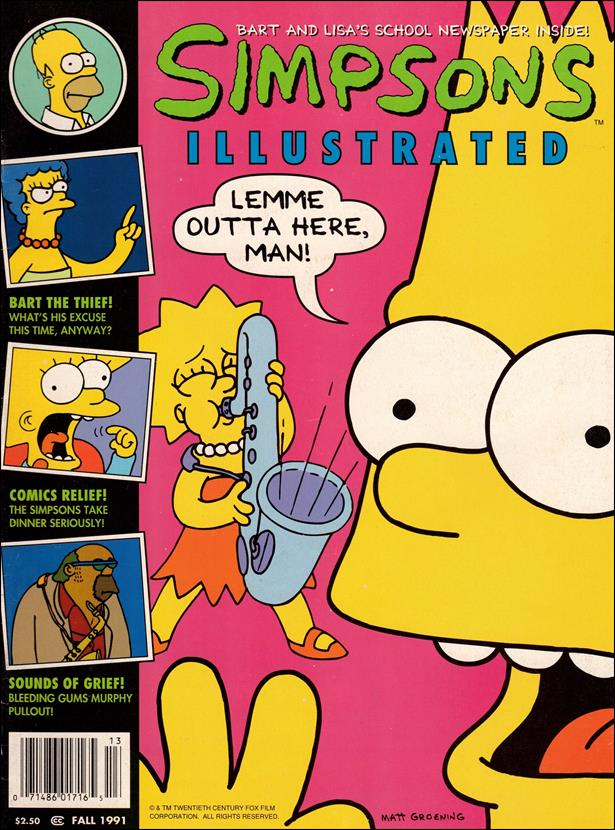 Simpsons Illustrated 3-A by Welsh Publishing Group