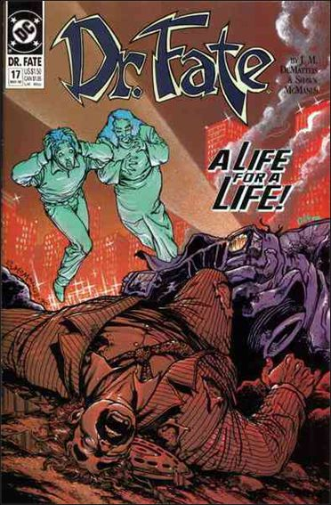 Doctor Fate (1988) 17-A by DC