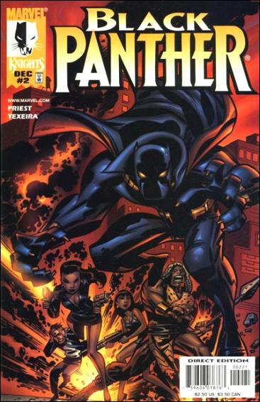 Black Panther (1998) 2-B by Marvel