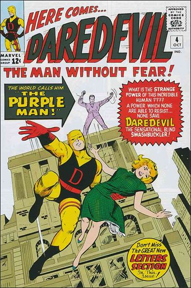 Daredevil (1964) 4-A by Marvel
