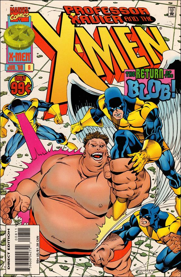 Professor Xavier and the X-Men 8-A by Marvel
