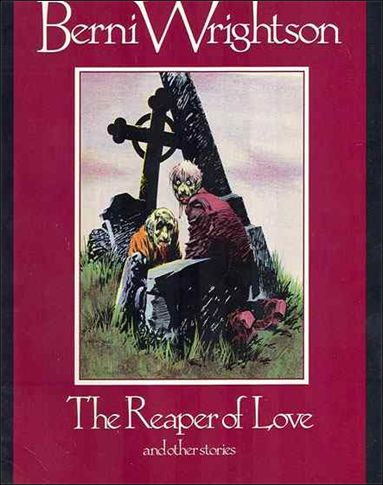 Reaper of Love and Other Stories 1-A by Fantagraphics