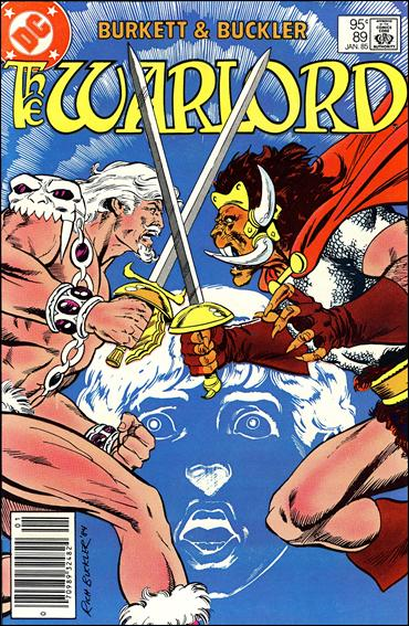 Warlord (1976) 89-B by DC