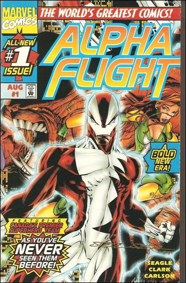 Alpha Flight (1997) 1-B by Marvel