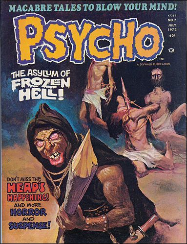 Psycho (1971) 7-A by Skywald
