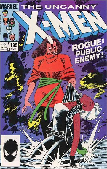 Uncanny X-Men (1981) 185-A by Marvel