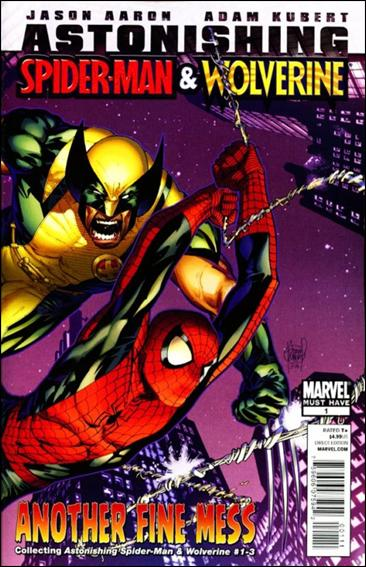 Astonishing Spider-Man & Wolverine: Another Fine Mess 1-A by Marvel