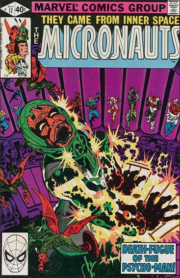 Micronauts (1979) 17-A by Marvel