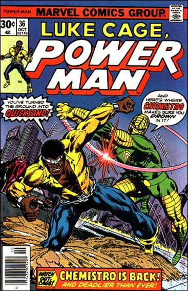 Power Man 36-A by Marvel