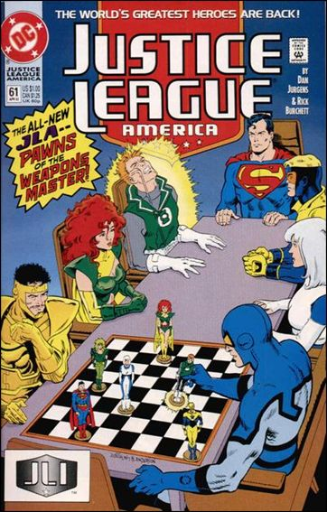 Justice League America 61-A by DC