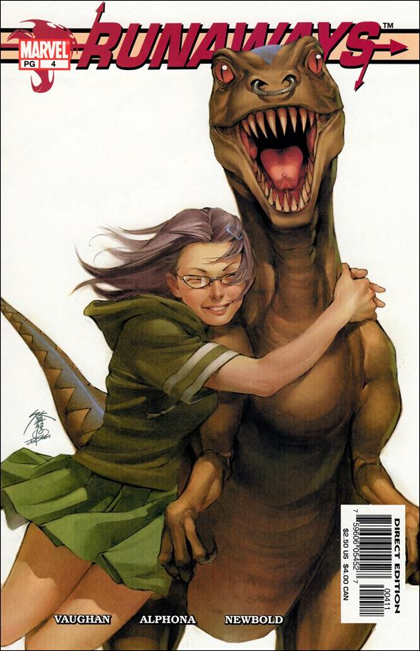 Runaways (2003) 4-A by Marvel