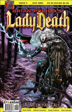 Brian Pulido's Lady Death: A Medieval Tale 5-A