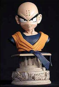 Dragonball Z Mini Resin Busts Krillin 1/5000 by Palisades Toys
