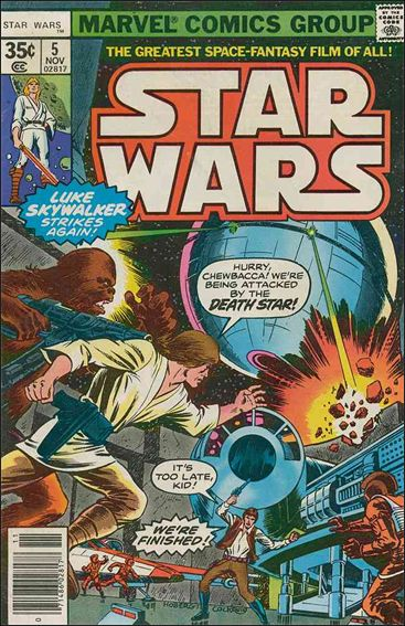 Star Wars (1977) 5-A by Marvel