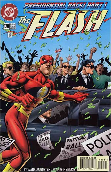 Flash (1987) 120-A by DC