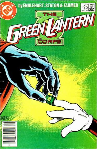 Green Lantern Corps (1986) 203-A by DC