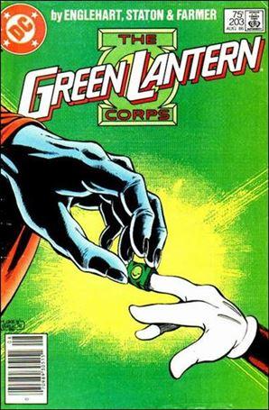 Green Lantern Corps (1986) 203-A