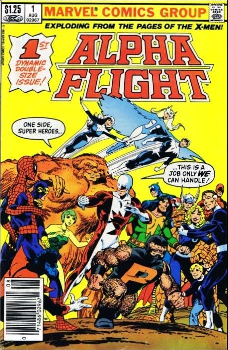 Alpha Flight (1983) 1-B by Marvel