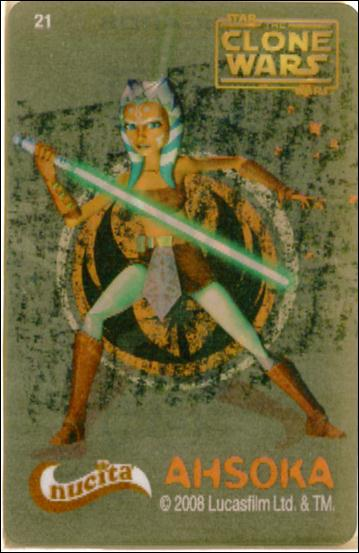 Star Wars The Clone Wars Nucita Motion Cards (Promo) 21-A by Lucasfilm Ltd.