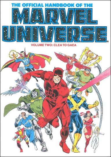 Official Handbook of the Marvel Universe 2-A by Marvel