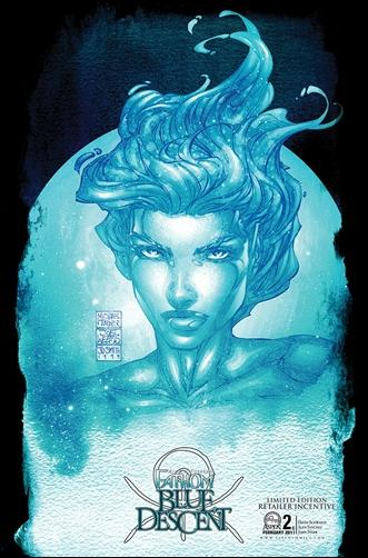 Michael Turner's Fathom: Blue Descent 2-C by Aspen