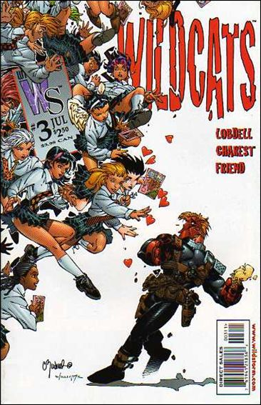 Wildcats (1999) 3-B by WildStorm
