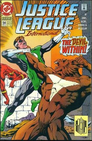 Justice League International (1993)  54-A