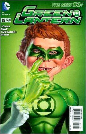 Green Lantern (2011) 19-D by DC