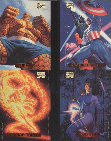 1994 Marvel Masterpieces (Promo) nn6-A by Fleer