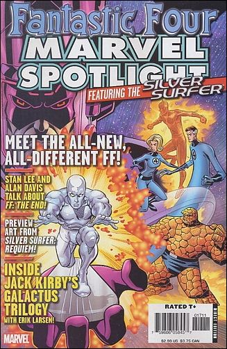 Marvel Spotlight: Fantastic Four and Silver Surfer nn-A by Marvel