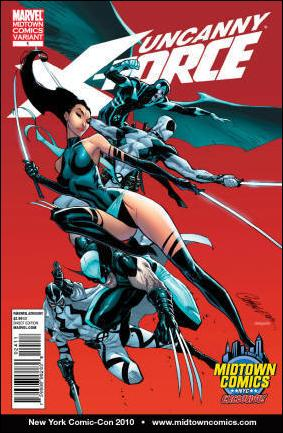 Uncanny X-Force (2010) 1-H by Marvel