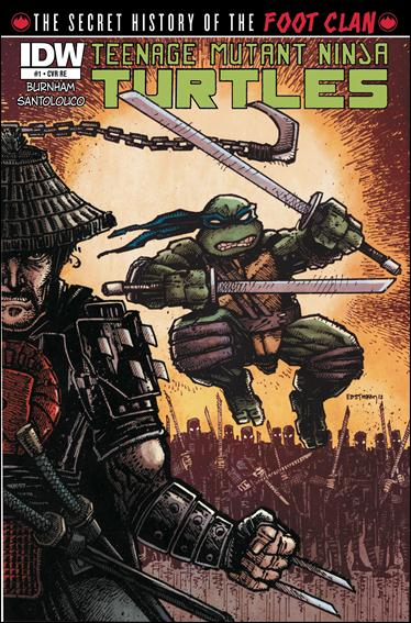 Teenage Mutant Ninja Turtles: The Secret History of the Foot Clan 1-G by IDW