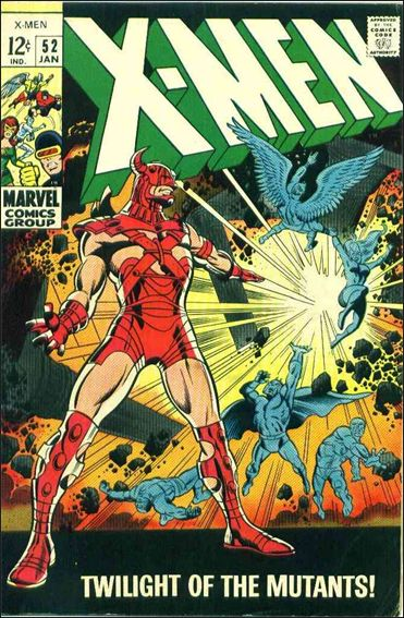 X-Men (1963) 52-A by Marvel