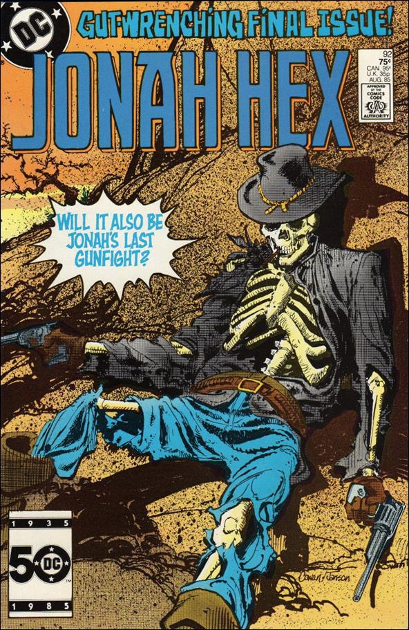 Jonah Hex (1977) 92-A by DC