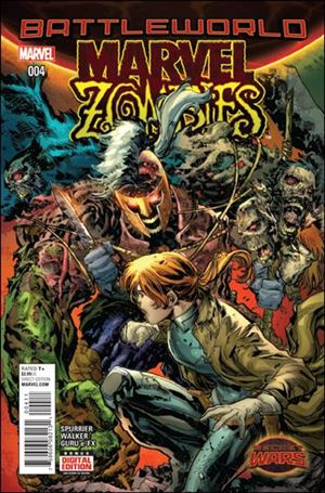 Marvel Zombies (2015) 4-A