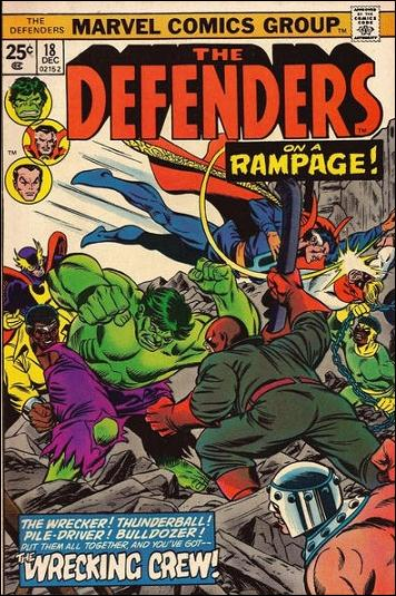 Defenders (1972) 18-A by Marvel