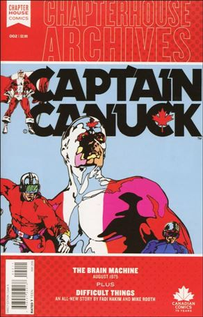Chapterhouse Archives: Captain Canuck 2-A