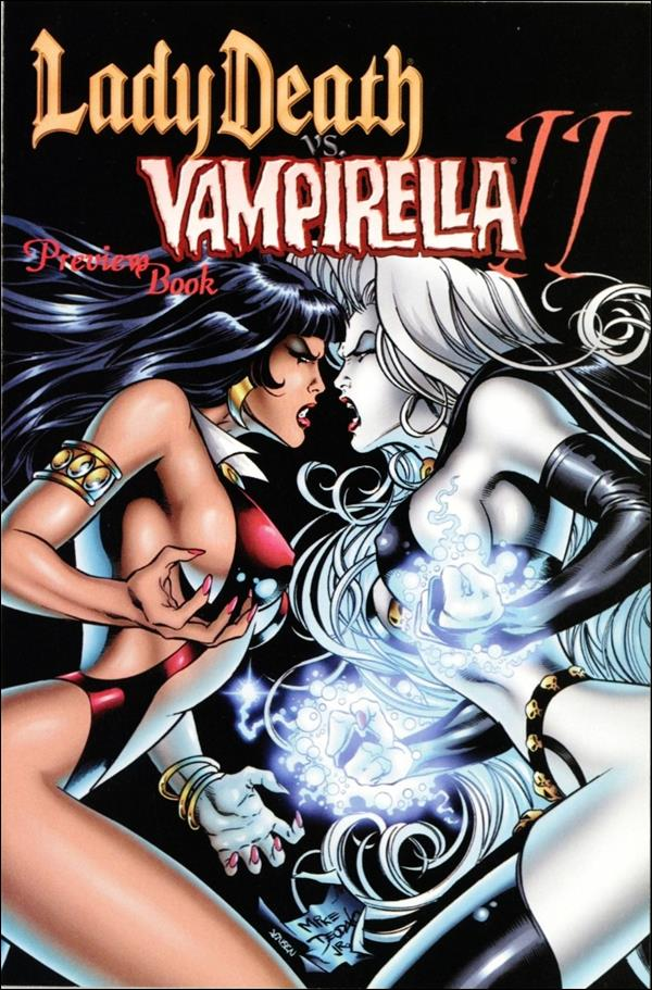 Lady Death vs Vampirella II Preview-A by Chaos! Comics