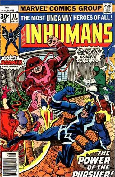 Inhumans (1975) 11-A by Marvel
