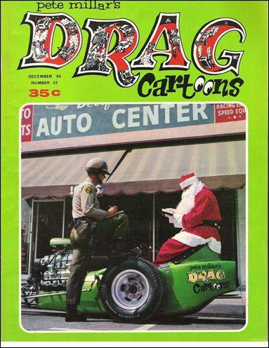 Drag Cartoons (1963) 22-A by Millar