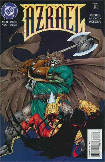 Azrael (1995) 14-A by DC