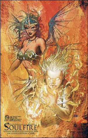 Michael Turner's Soulfire (2004) 6-B by Aspen