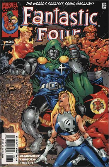Fantastic Four (1998) 26-A by Marvel