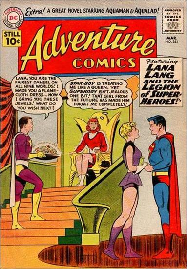 Adventure Comics (1938) 282-A by DC