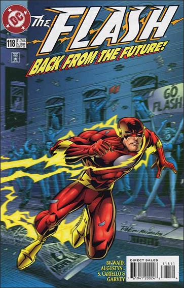 Flash (1987) 118-A by DC