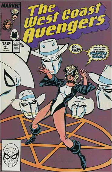 West Coast Avengers (1985) 41-A by Marvel