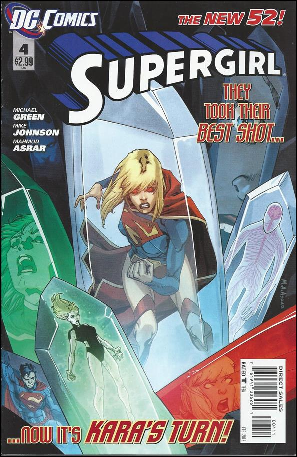 Supergirl (2011) 4-A by DC