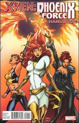 X-Men: Phoenix Force Handbook 1-A by Marvel