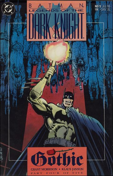 Batman: Legends of the Dark Knight 9-A by DC
